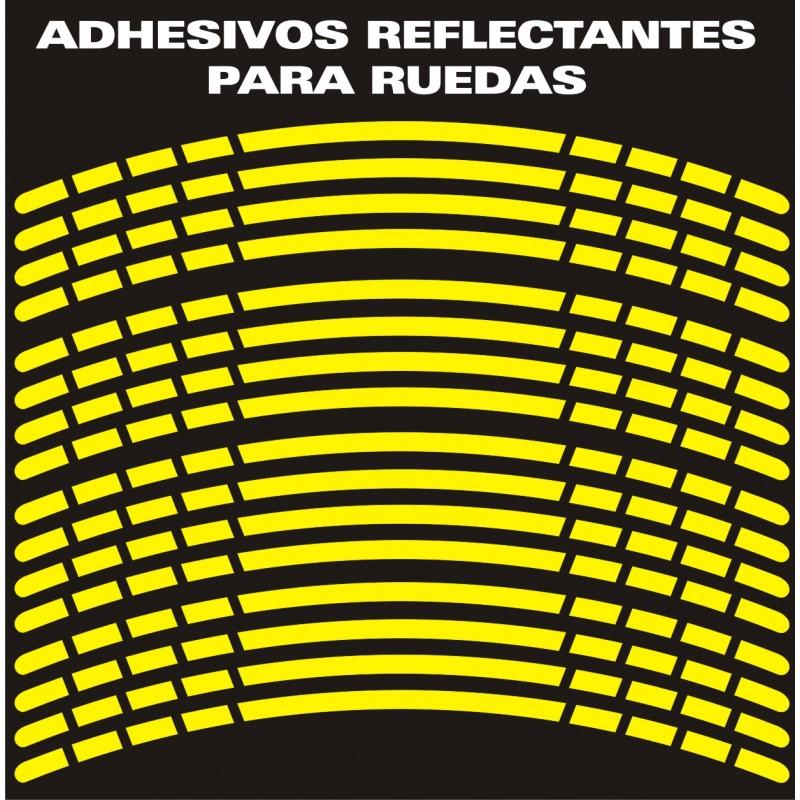 Artesanato Russo ~ Adhesivo reflectante para ruedas VINILO REFLECTANTE