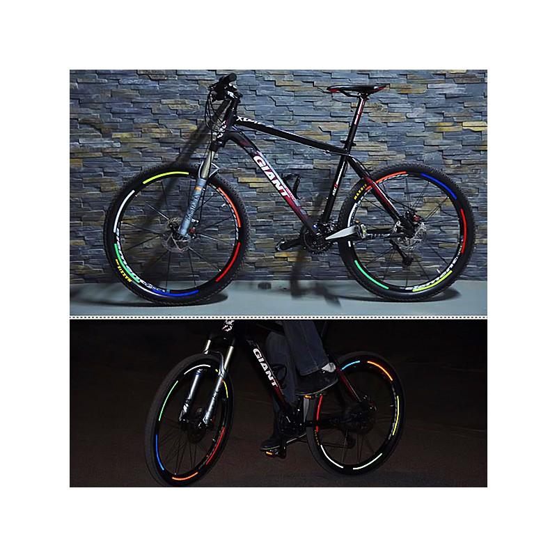 Vinilo Reflectante Para Bicicletas
