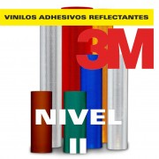 VINILO REFLECTANTE NIVEL II MICROPRISMATICO 3M